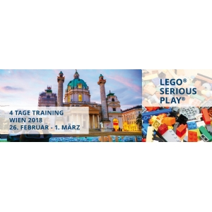 Training in the LEGO SERIOUS PLAY Method - Vienna (EARLY BIRD)