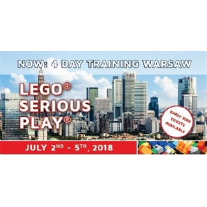 Training in the LEGO SERIOUS PLAY Method - Warschau (EARLY BIRD)
